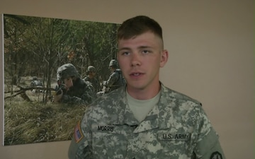 PFC Andrew Morris tells about his experiences with the Paralegal Warrior Training Course