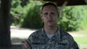 2014 ARNG BWC - Spc. Cunningham Interview