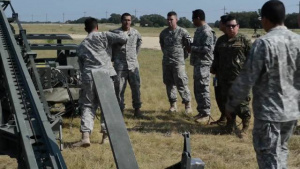 Chilean Fort Hood Visit