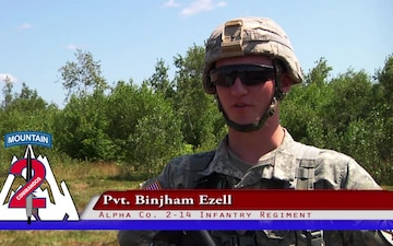 Fort Drum Soldiers earn their Expert Infantry Badges