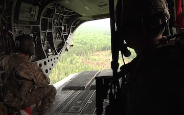 1/126 CAV Conducts Joint Strike Maneuvers During Northern Strike 2014