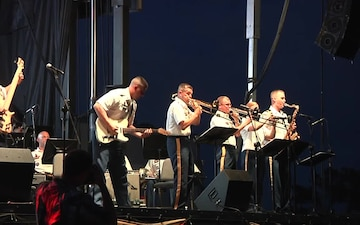 1st Armored Division Band Performs the End of Summer Salute Concert at Fort Bliss