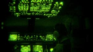 Night Vision B-Roll of Humanitarian Aid Air Drop Near Amiril, Iraq
