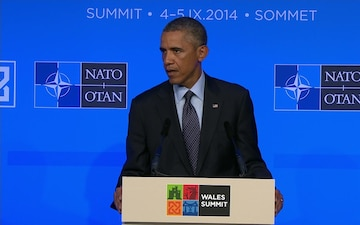 President Obama Press Conference from NATO Wales Summit