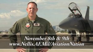 Nellis Air Force Base Open House 2014 Commercial - 10 Second Version