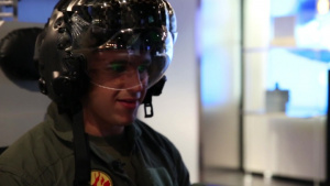 With the Gear: X-ray Helmet, Virtual F-35 (No Slate)