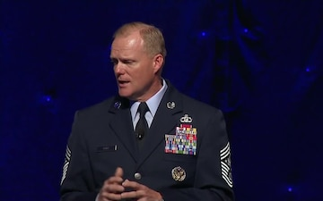 Chief Master Sergeant of the Air Force Discusses Promotions