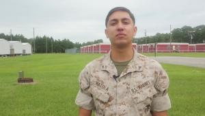 2014 Marine Corps Marathon Shout Out – Lance Cpl. Watola