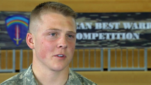 USAREUR Best Warrior Soldier of the Year Winner Raw Interview