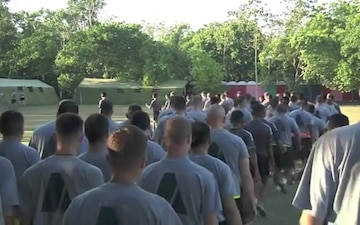Garuda Shield 2014 Combined Physical Readiness Training