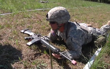 Expert Field Medical Badge at Fort Campbell