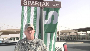 Lt. Col. Reed Shout-Out to MSU Spartans