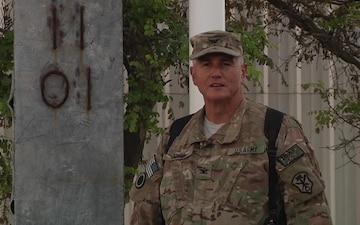 Col. Michael Garcia Sends a Happy Birthday