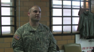 1st Sgt. Mathew J. Roberge - Kentucky Outstanding Airman and Soldier of the Year 2014