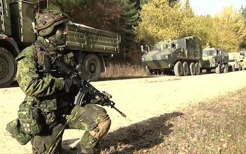 Danish Royal Guard Train During Combined Resolve Three