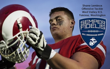 Yakima Football Star, University of Oregon Commit Selected for Marines' 2015 Semper Fidelis All-American Bowl