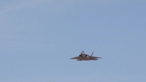 F-22 Raptor Demonstration at 2014 Nellis Air Force Base Open House