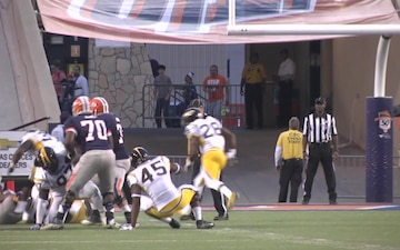 Fort Bliss Soldiers Attend University of Texas El Paso Football Game for Military Appreciation Day