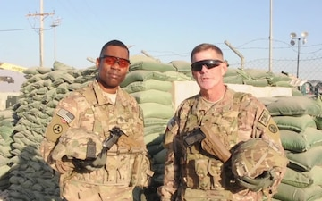 Brig. Gen. Walker and Command Sgt. Maj. Bell Thanksgiving Shout-Out