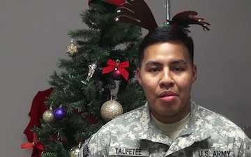 PV2	Randy Taufete'e Holiday Greetings