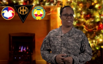 Holiday Greeting by MSG Rosa Fale