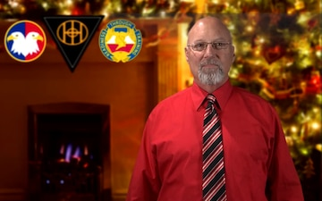 Holiday Greeting by Mr. Kevin Lindsay of the 83rd USARRTC, Fort Knox, KY