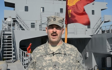 SFC Michael Griffin sends Holiday greeting