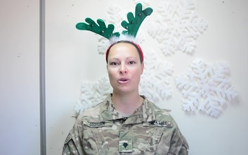 SPC DeLisa Osborn Sends Holiday Greeting