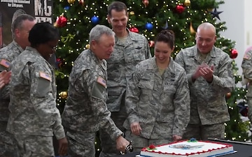 Guard's 378th Birthday Cake Cutting