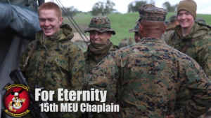 15th MEU Chaplain Visits Marines