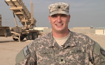 Spc. Damian Humphrey Holiday Shout-out