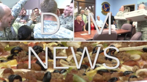 DM News Episode 6: Senior Leaders Bring Pizza to Airmen