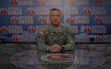 Maj Gen Lyons Sends Guard Birthday and Holiday Greetings