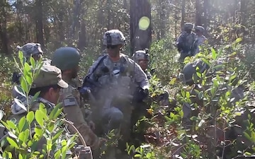 3-7 Soldiers Focus on Live Fire Training