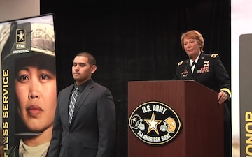 2015 Army All-American Bowl Combine Welcome Ceremony, B-Roll