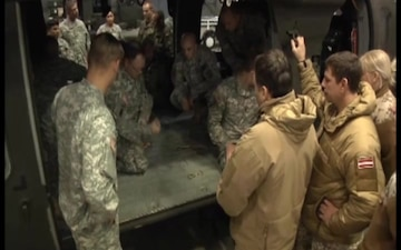 Broadcast Category K: Foreign Jumpmaster trains with the U.S.