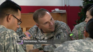 Commander USAREUR Thanks U.S. Troops in Turkey for Service