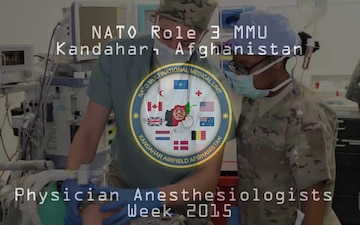 Physician Anesthesiologists Keep Patients Safe in Afghanistan