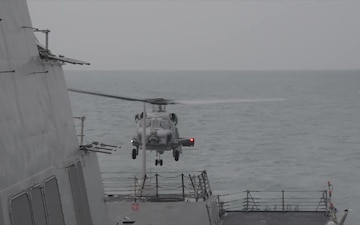 Helicopter Search Operations of AirAsia Flight QZ8501