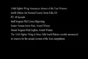 114th Airmen of The Year Winners