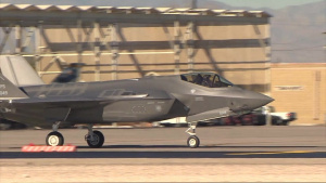 USAFWS Receives its first F-35