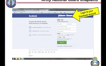 How to Request Access the Army National Guard Chaplaincy Facebook Group