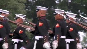 Battle Color Detachment Returns to MCLB Albany