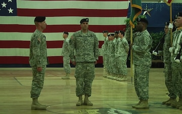4th Special Troops Battalion Deactivation Ceremony