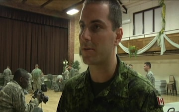 Canadian Medic Supports Army Reserve Soldiers During Maple Caravan 15