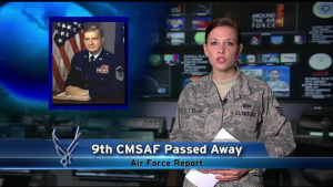 Air Force Report: AF Mourns the Loss of CMSAF Binnicker