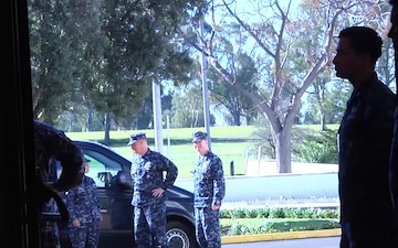 VCNO Visits U.S. Naval Hospital Rota