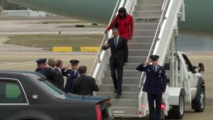 President Obama at 117 ARW