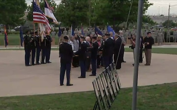 Fort Hood Purple Heart Defense of Freedom Medals Ceremony