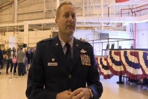 Col. LaBarge Speaks About the 105th Base Defense Squadron